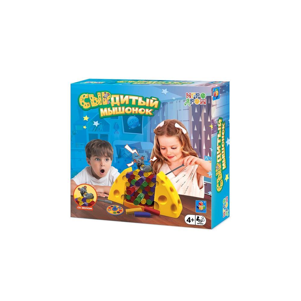Фото - 1toy Игродром игра настольная СЫРдитый мышонок настольная игра 1 toy игродром логические опыты