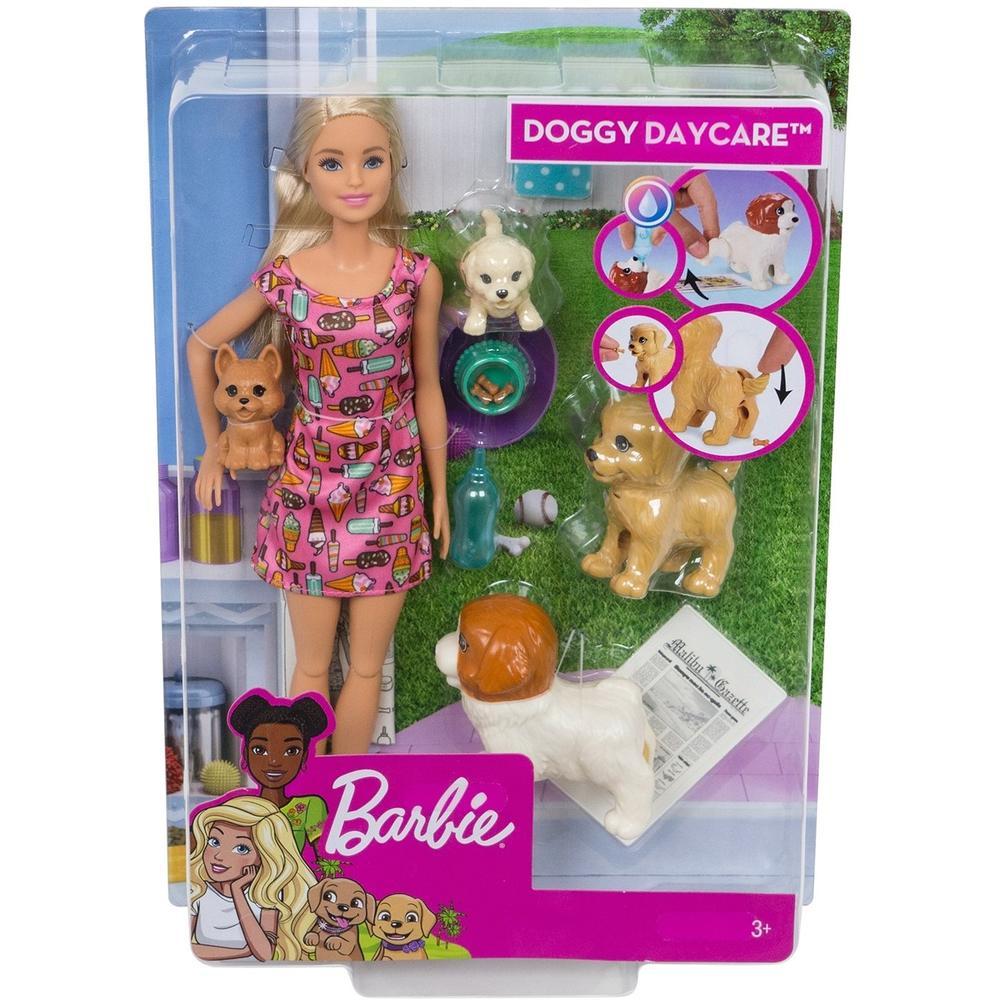 Кукла Mattel Barbie Барби и щенки FXH08