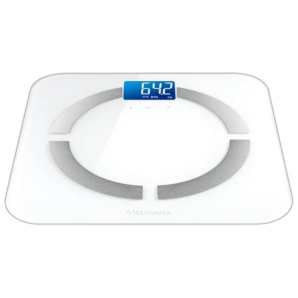 Весы напольные Medisana BS 430 Connect WH весы напольные medisana 40470 pss