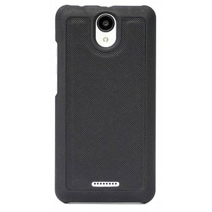 Чехол для BQ-5057 Strike 2 BQ Mobile магнитная накладка, черный смартфон bq mobile bq 5514l strike power 4g silver