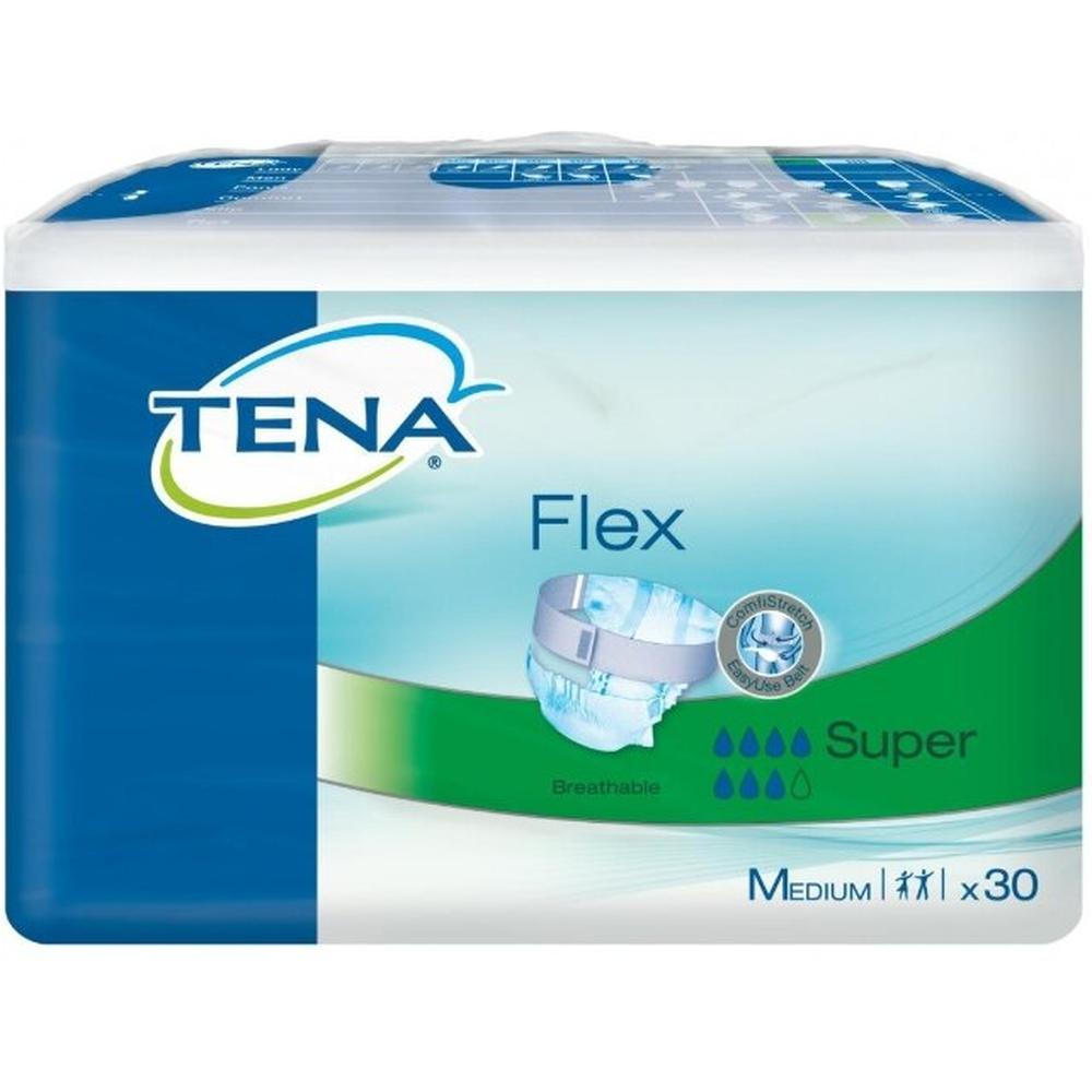 TENA Подгузники для взрослых Flex Super, M (30 шт.)