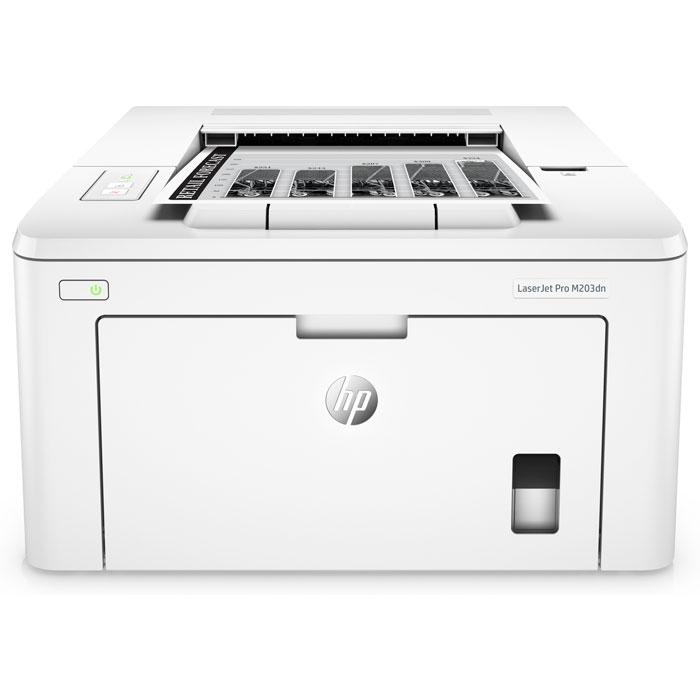 Принтер HP LaserJet Pro M203dn G3Q46A ч/б А4 28ppm с дуплексом и LAN