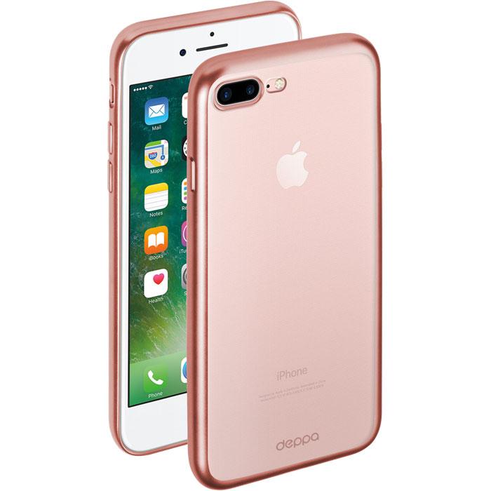 Чехол для iPhone 7 Plus/8 Plus, Deppa Gel Case Plus , розовый