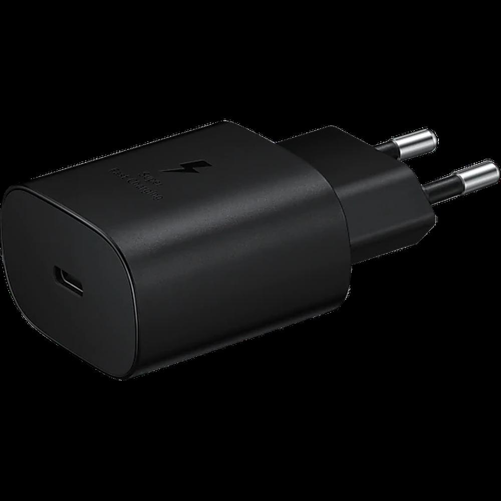 Фото - Сетевое зарядное устройство Samsung EP-TA800 25W Type C, черное сетевое зарядное устройство prime line 2xusb 2 4a кабель usb type c черное 2328