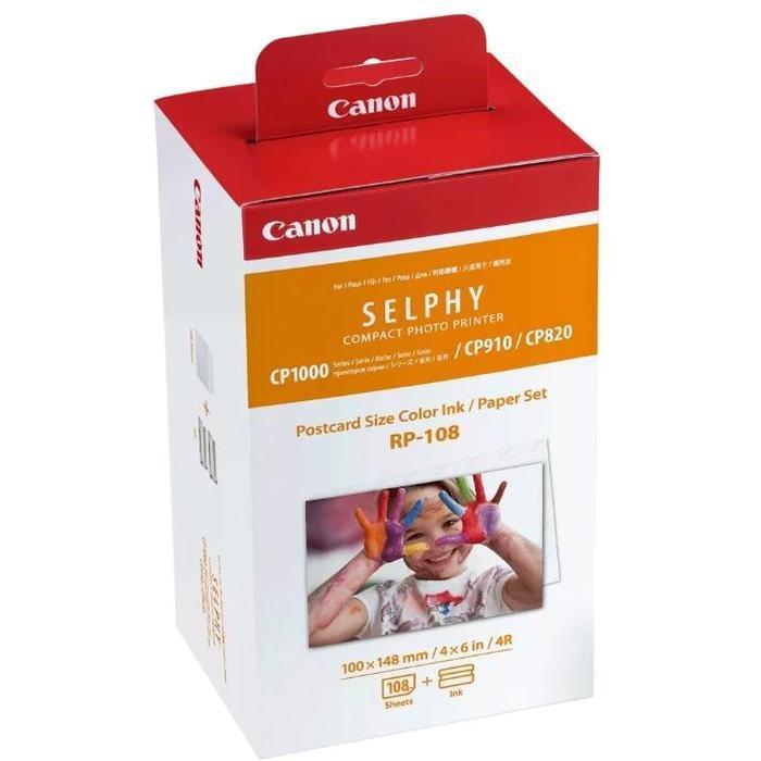 Фото - Картридж Canon RP-108 (10x15) для Selphy CP зарядное устройство canon cg cp200 для selphy