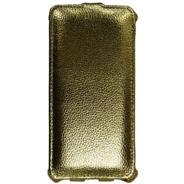 Чехол для Meizu U20 Gecko Flip, золотистый
