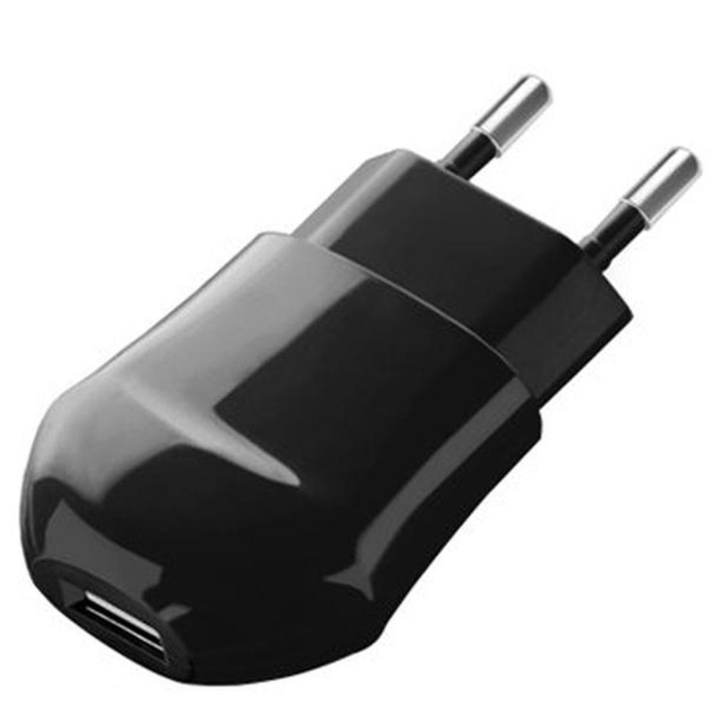 Сетевое зарядное устройство Deppa 1xUSB 1A Черный (23123) сетевое зарядное устройство deppa 2 4a typec black