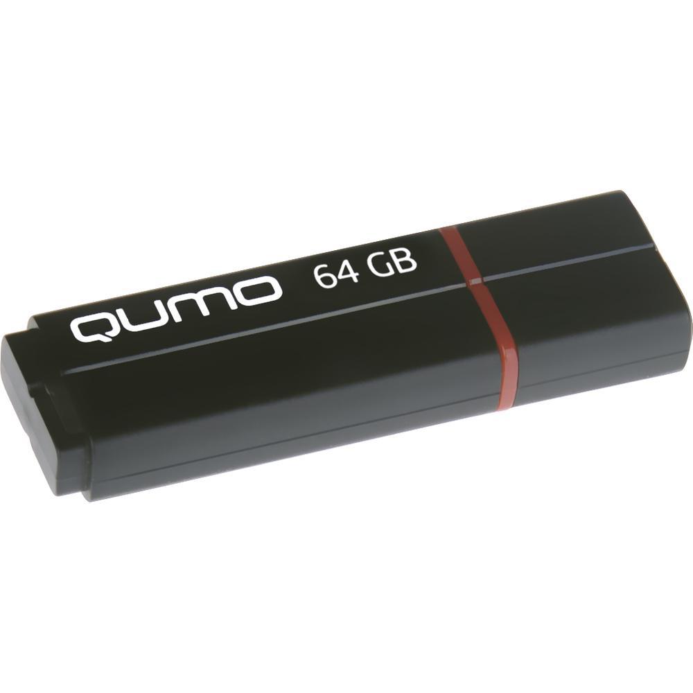 Фото - USB Flash накопитель 64GB Qumo Speedster (QM64GUD3-SP-black) USB 3.0 Black флешка usb 32gb qumo speedster usb3 0 черный qm32gud3 sp black