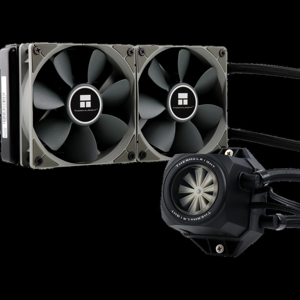 Система водяного охлаждения Thermalright Turbo Right 240 C RGB (TURBO-RIGHT-240-C) (S1150/1200, S1356/S1366, S2011, AM4) недорого