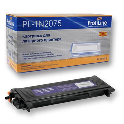 Фото - Картридж ProfiLine PL- TN-2075 для Brother HL-2030/2040/2045/2050/2070/2075N/DCP-7010/7020/7025 (2500стр) картридж лазерный profiline pl tn 2375