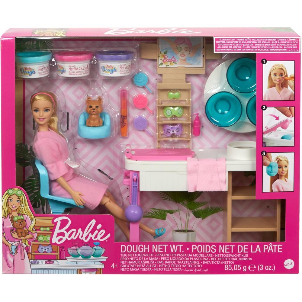 Фото - Mattel Barbie Игровой набор СПА GJR84 набор игровой barbie оздоровительный спа центр gjr84