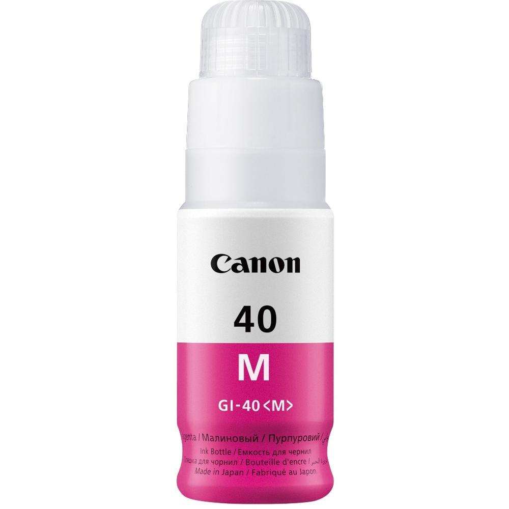 Фото - Чернила Canon GI-40 M Magenta для Pixma G5040/G6040 картридж струйный canon gi 40 y 3402c001 желтый 70мл для canon pixma g5040 g6040