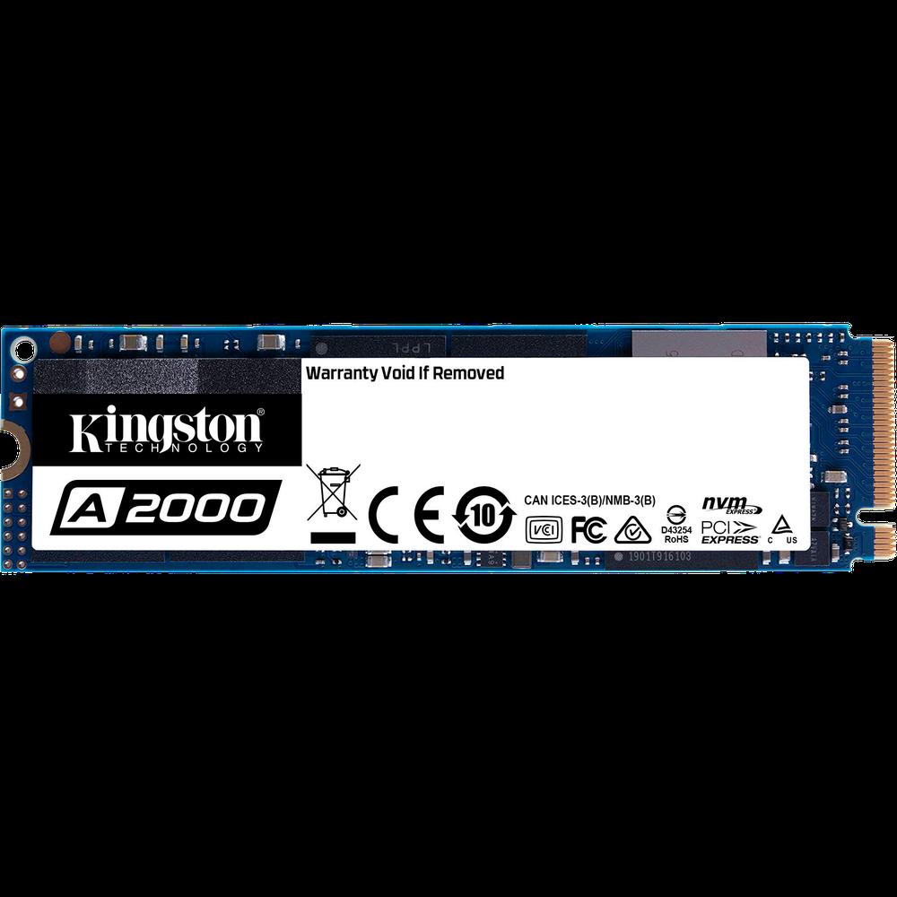 Внутренний SSD-накопитель 250Gb Kingston A2000 SA2000M8/250G M.2 2280 PCIe NVMe 3.0 x4