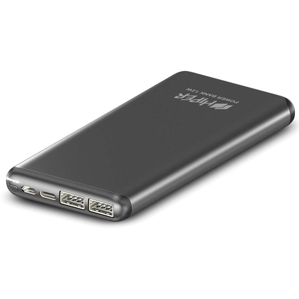 Фото - Внешний аккумулятор HIPER MS10000 10000mAh серый внешний аккумулятор hiper mps10000 10000mah синий