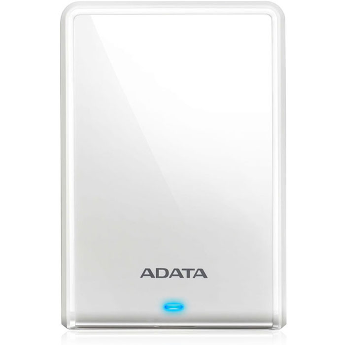 Фото - Внешний жесткий диск 2.5 2Tb A-Data ( AHV620S-2TU3-CWH ) USB 3.0 HV620S Slim Белый внешний жесткий диск 2 5 usb3 1 2tb adata hd710p ahd710p 2tu31 cyl желтый