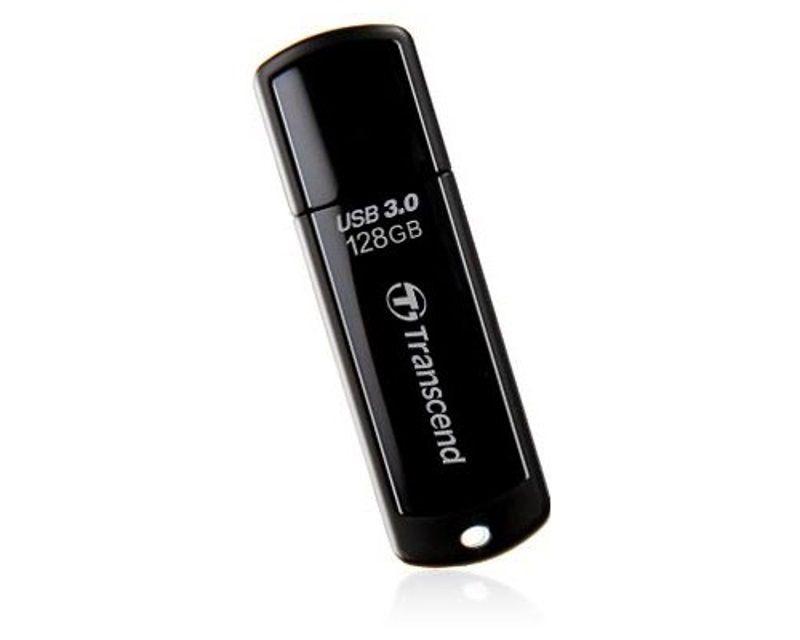 USB Flash накопитель 128GB Transcend JetFlash 700 (TS128GJF700) 3.0 Черный