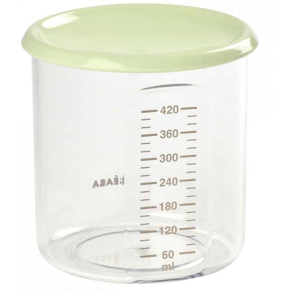 Контейнер для хранения Beaba Maxi + Potrion 420 ml Tritan L Gree недорого