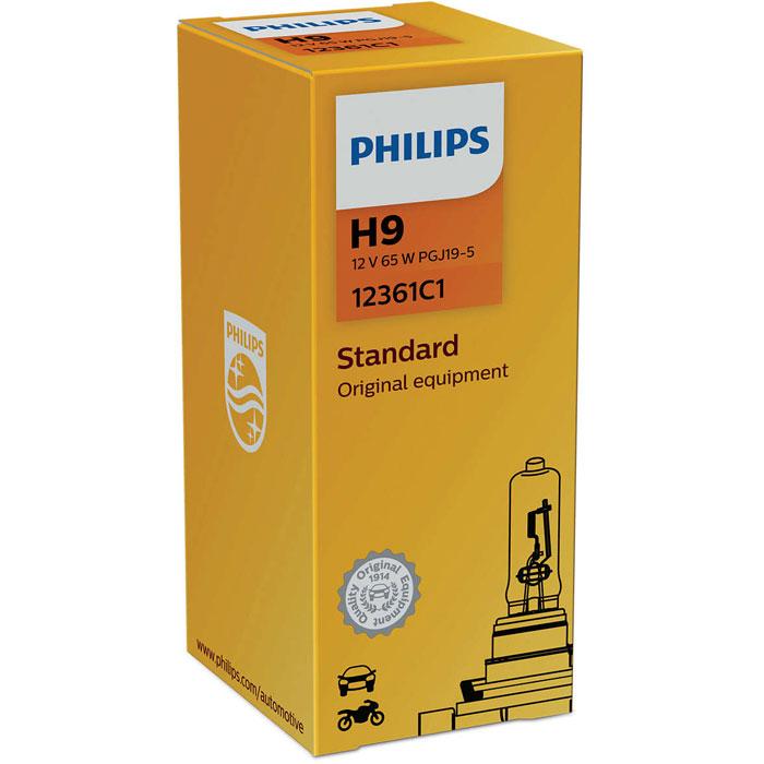 Автомобильная лампа H9 65W 1 шт. Philips