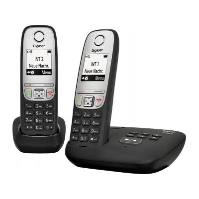 Фото - Радиотелефон Gigaset A415A Duo черный радиотелефон gigaset cl660a черный