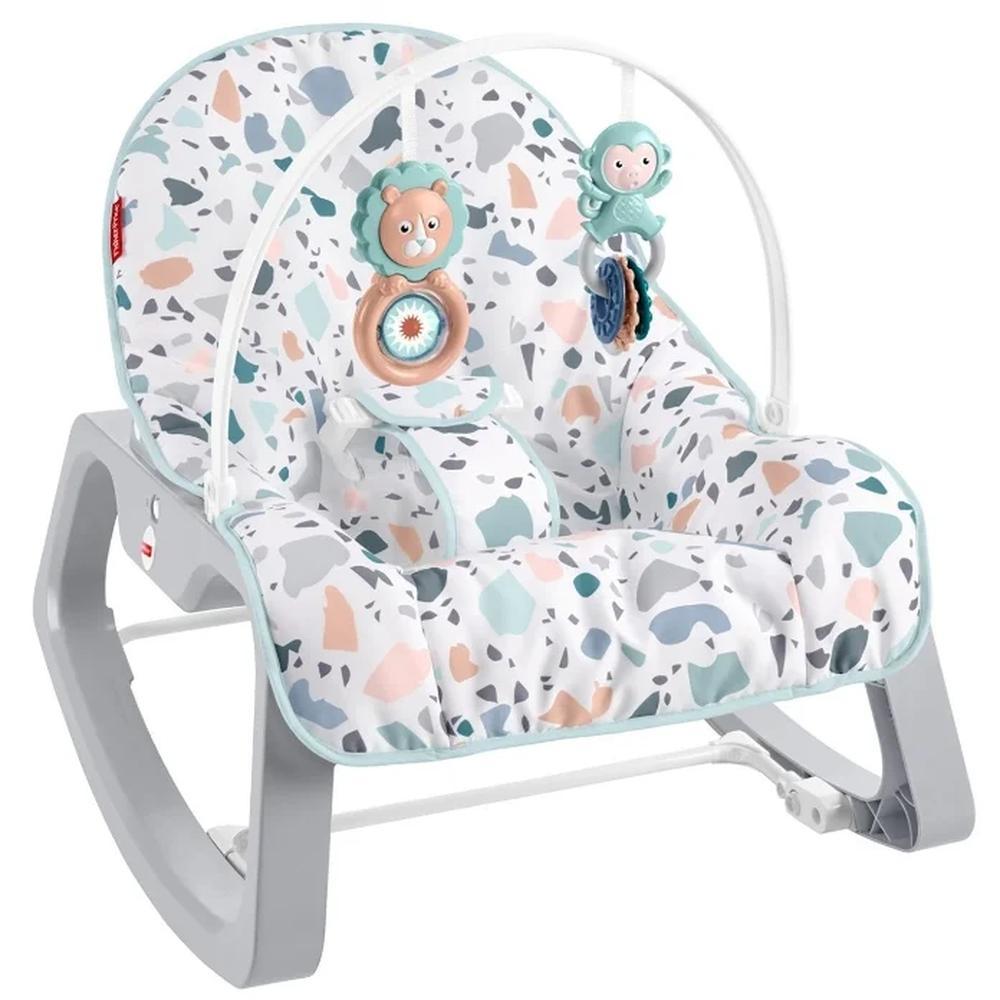 Фото - Кресло-качалка Mattel Fisher-Price® GWD39 развивающий коврик fisher price джамбо