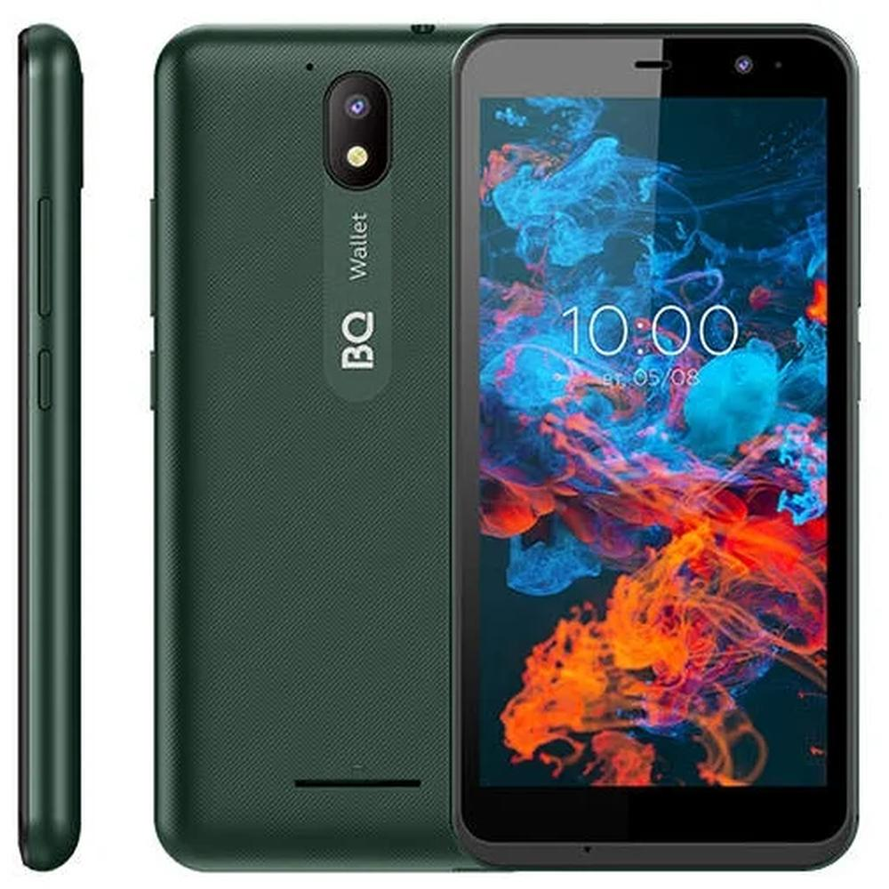 Смартфон BQ Mobile BQ-5045L Wallet Green смартфон bq 5045l wallet черный