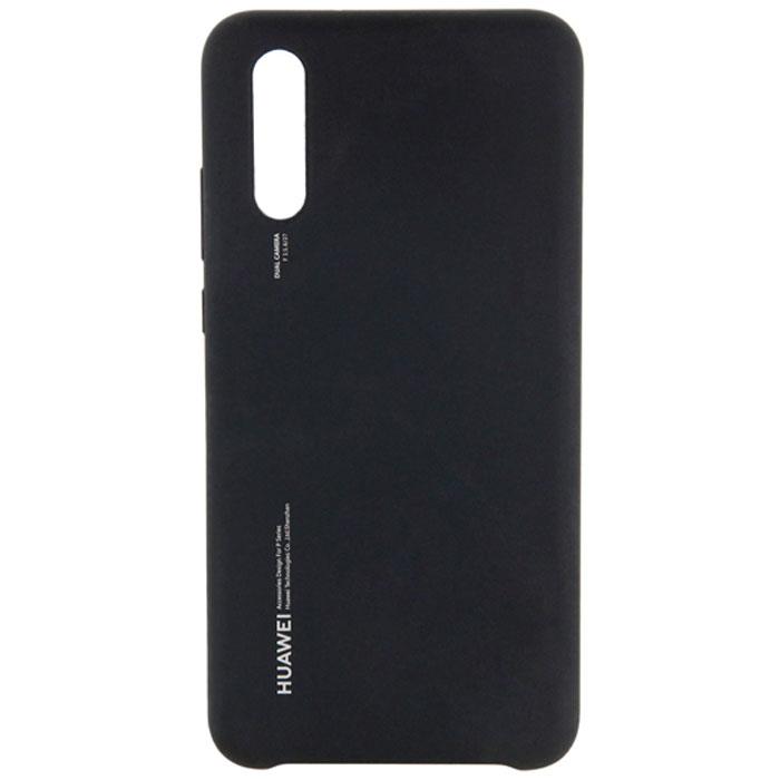 Чехол для Huawei P20 Silicon Case 51992365, черный чехол для huawei p20 silicon case 51992365 черный