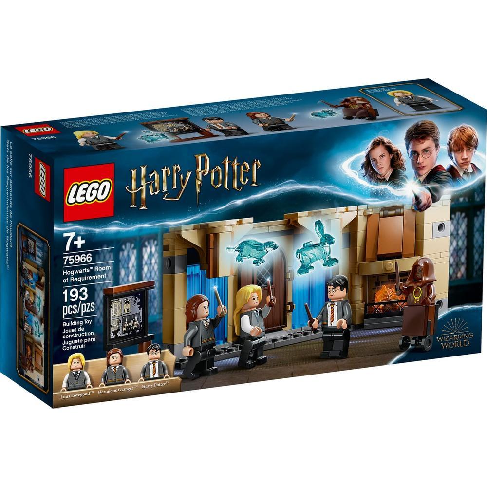 LEGO Harry Potter Выручай-комната Хогвартса 75966 конструктор lego harry potter запретный лес грохх и долорес амбридж 75967