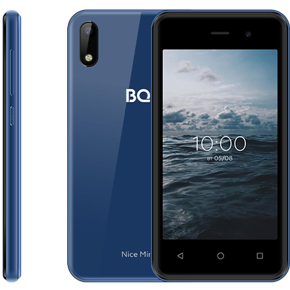 Смартфон BQ Mobile BQ-4030G Nice Mini Blue сотовый телефон bq 4030g nice mini gold