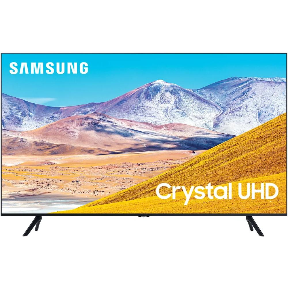 Фото - Телевизор 43 Samsung UE43TU8000UX (4K UHD 3840x2160, Smart TV) черный телевизор 43 lg 43uk6200 4k uhd 3840x2160 smart tv черный