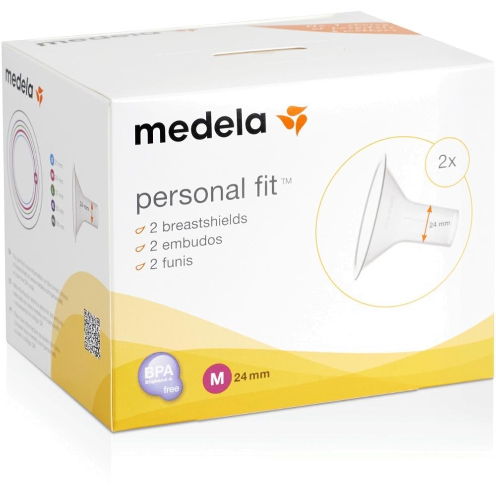 Воронка для молокоотсоса Medela М (24 мм), (2 шт/уп) 008.0338