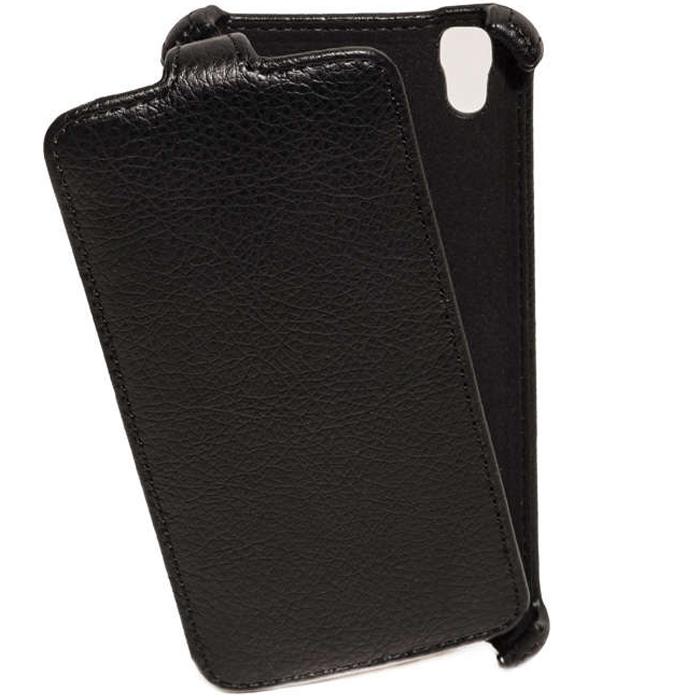 Чехол для LG X style K200 Gecko Flip case, черный