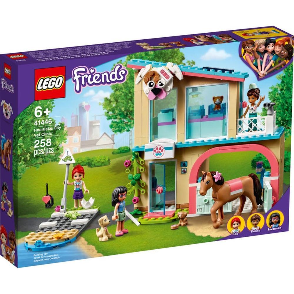LEGO Friends Ветеринарная клиника Хартлейк-Сити 41446
