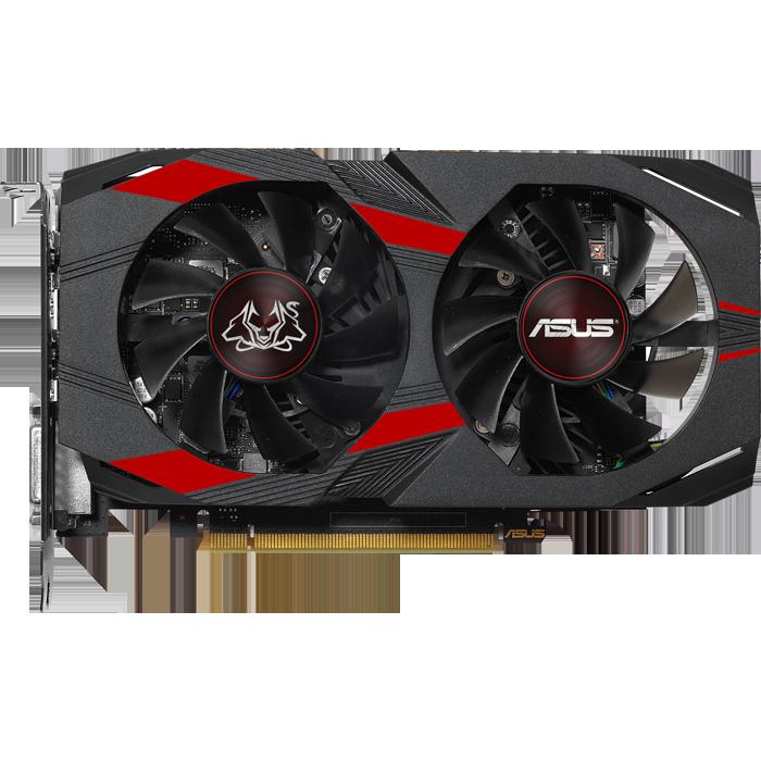 Видеокарта ASUS GeForce GTX 1050 Ti 4096Mb, Cerberus-GTX1050TI-O4G DVI-D, HDMI, DP Ret