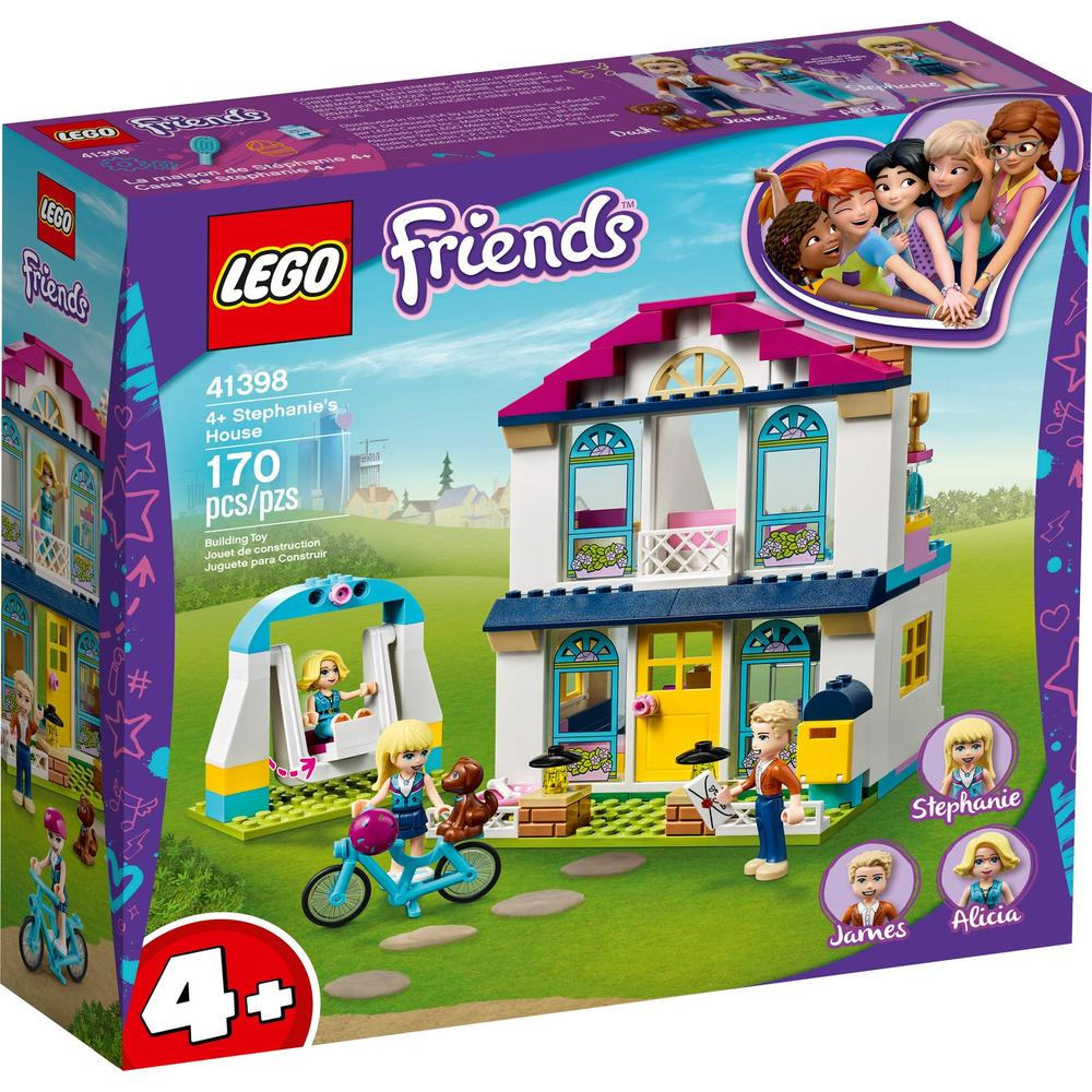 LEGO Friends Дом Стефани 41398 конструктор lego friends 41398 дом стефани