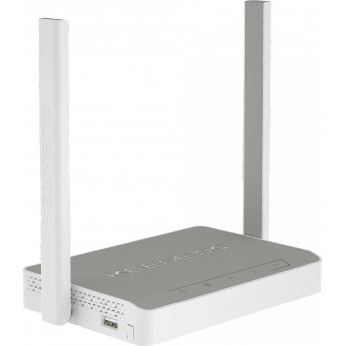 Беспроводной маршрутизатор Keenetic Omni (KN-1410) 802.11n 300Мбит/с, 2.4ГГц, 4xLAN WAN USB