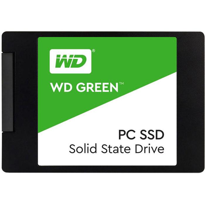 Внутренний SSD-накопитель 120Gb Western Digital Green WDS120G2G0A SATA3 2.5 ssd накопитель western digital ssd m 2 120gb wds120g2g0b