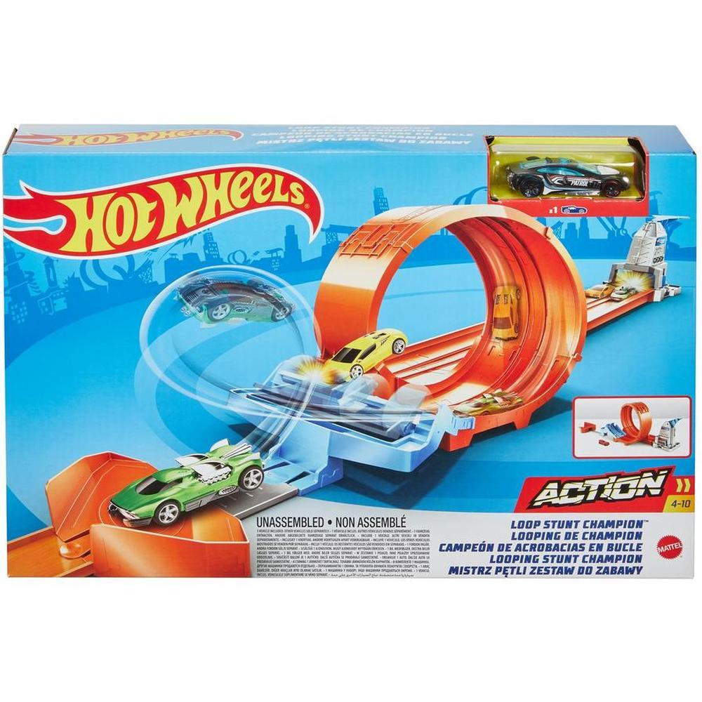 Mattel Hot Wheels Гоночный игровой набор GBF81/GTV13 Чемпион по трюкам в петле недорого