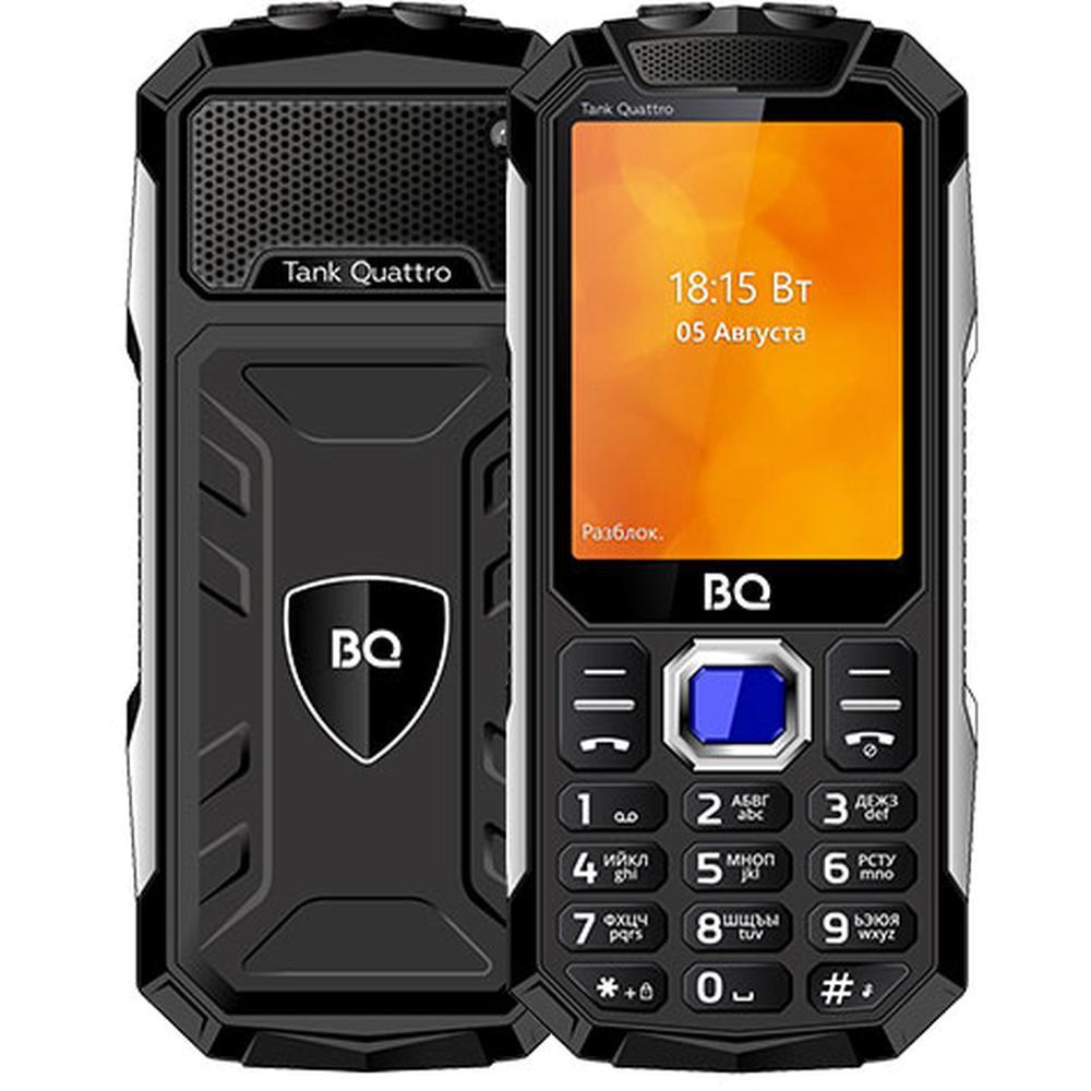 Мобильный телефон BQ Mobile BQ-2819 Tank Quattro Black мобильный телефон bq mobile bq 2817 tank quattro power black
