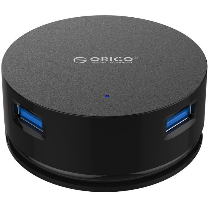 Фото - 4-port USB3.0 Hub Orico LHA-U3 черный 7 port usb3 0 hub orico h7013 u3 черный
