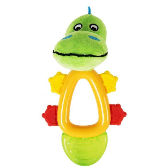 Фото - Игрушка - погремушка Happy Snail Кроко 17HST04CR игрушка погремушка happy snail хруми 17hst02hr