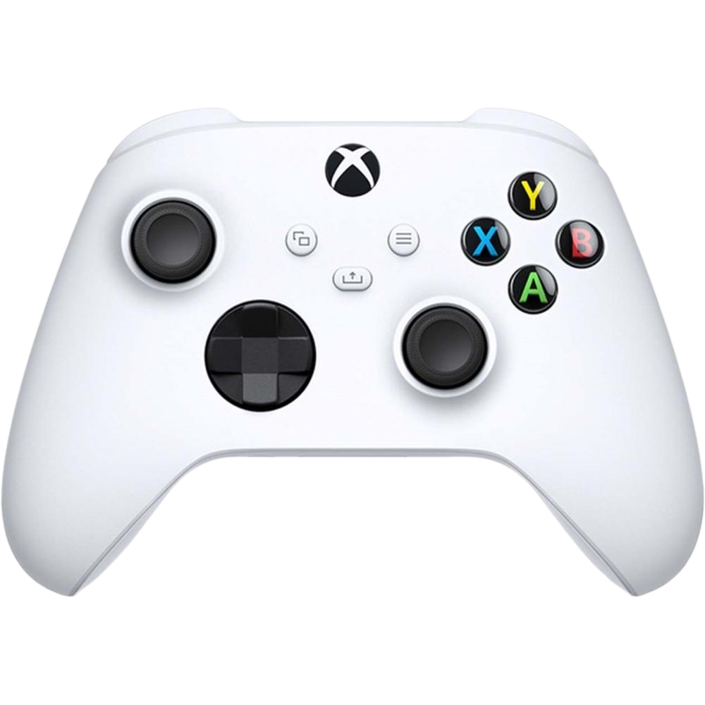Фото - Геймпад Microsoft Xbox Series Robot White Bluetooth (QAS-00002) геймпад microsoft xbox one usb кабель для пк 4n6 00002 черный