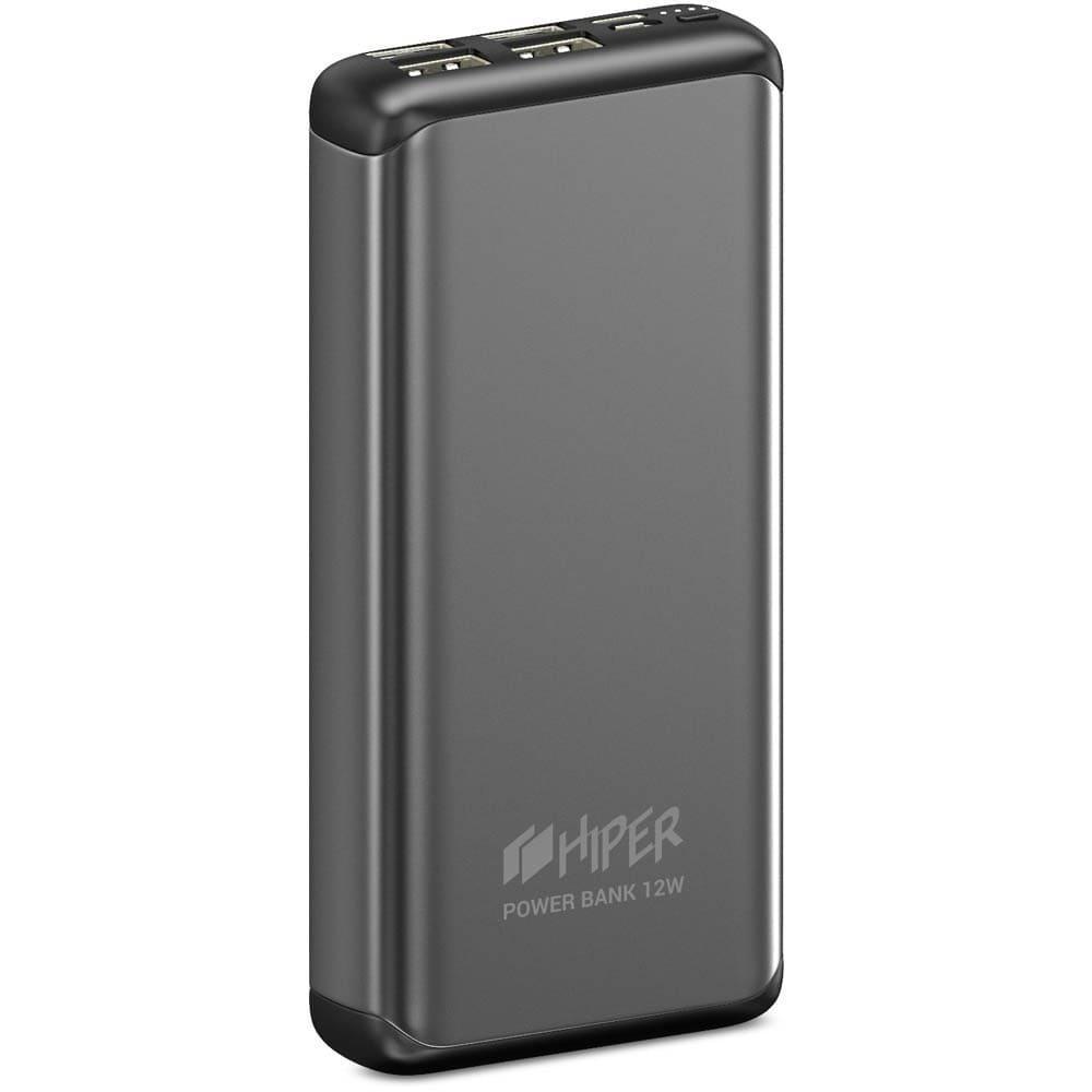 Фото - Внешний аккумулятор HIPER MS20000 20000mAh серый внешний аккумулятор hiper mpx10000 10000mah серый