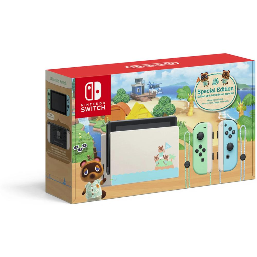 Игровая приставка Nintendo Switch New Издание Animal Crossing Horizons