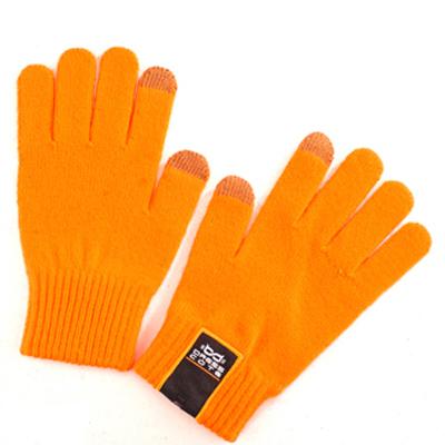 Перчатки для сенсорных дисплеев Dress Cote Touchers, оранжевый, размер S