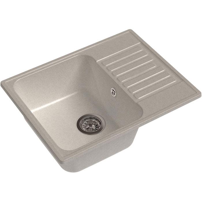 Кухонная мойка GranFest Quarz GF-Z13 чаша с крылом 620*480мм белый кухонная мойка granfest quarz gf z58 чаша с крылом 620 480мм бежевый