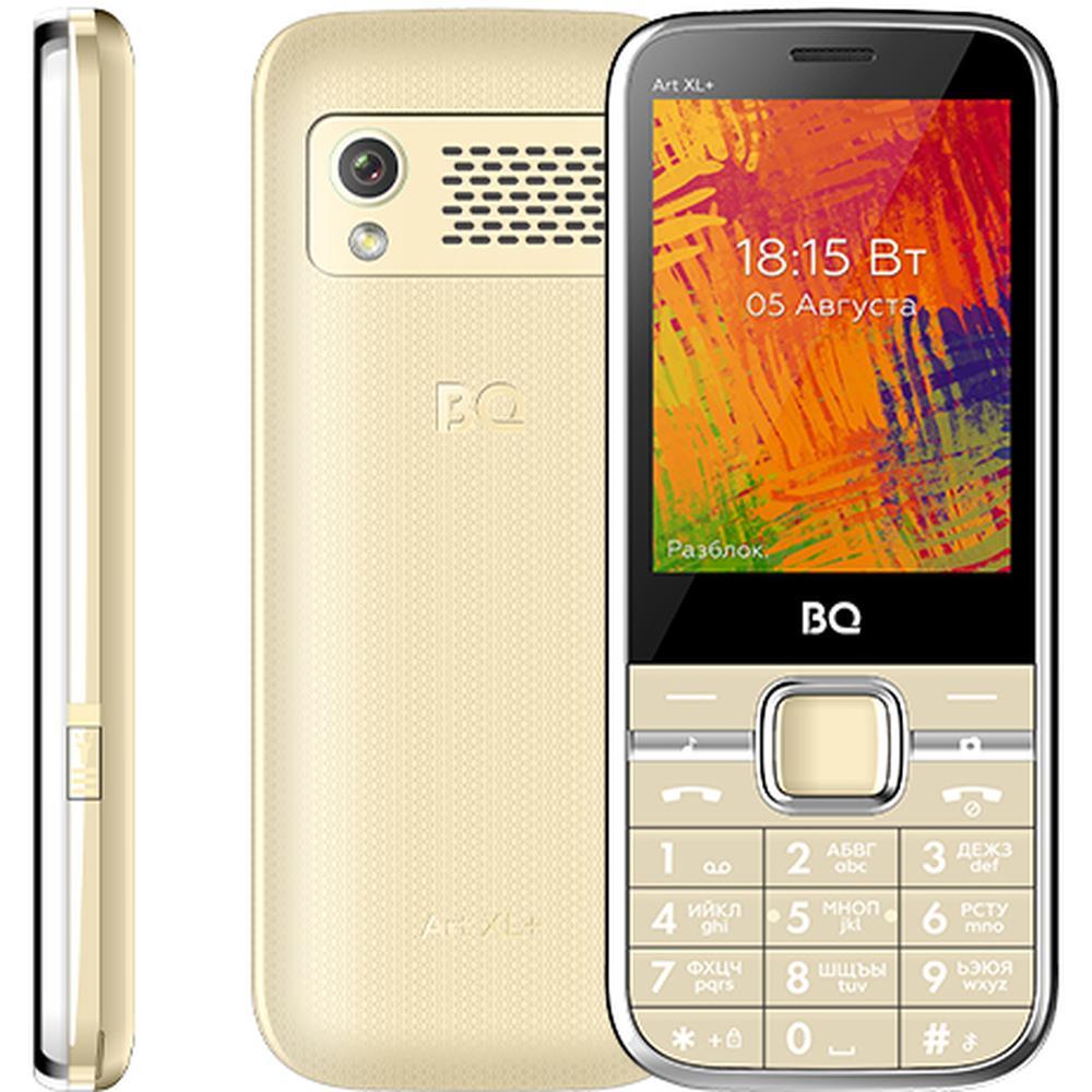 Мобильный телефон BQ Mobile BQ-2838 Art XL+ Gold мобильный телефон bq 2816 shell gold