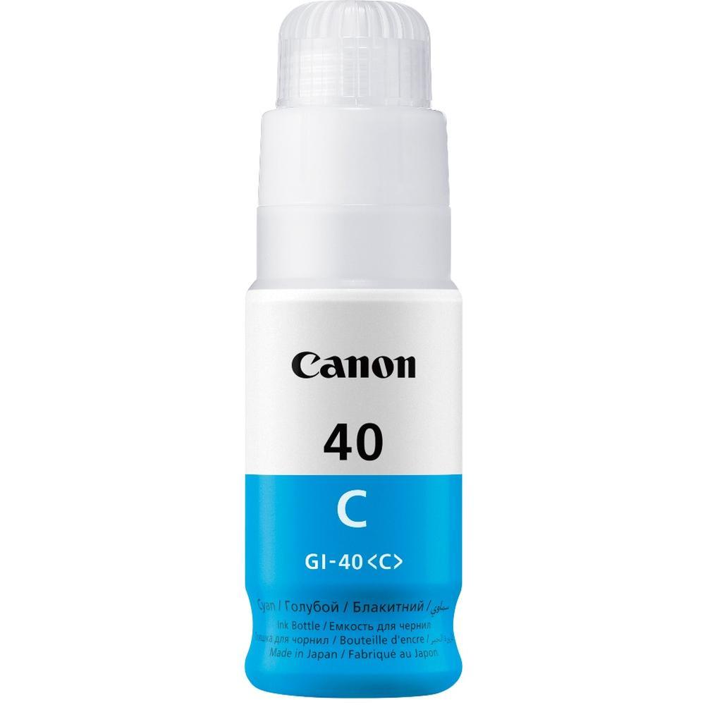 Фото - Чернила Canon GI-40 C Cyan для Pixma G5040/G6040 картридж струйный canon gi 40 y 3402c001 желтый 70мл для canon pixma g5040 g6040