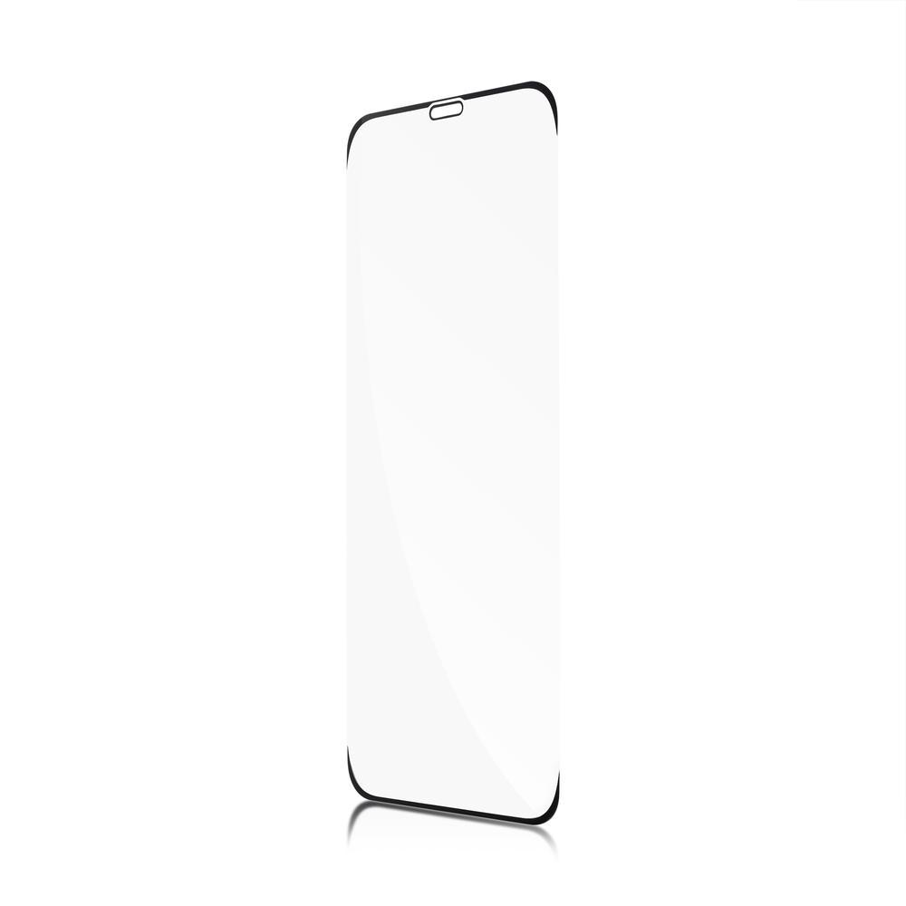 Защитное стекло для iPhone 11 Pro Brosco 3D, изогнутое по форме дисплея, с прозрачной рамкой защитное стекло для iphone 6 plus onext 3d изогнутое по форме дисплея с прозрачной рамкой
