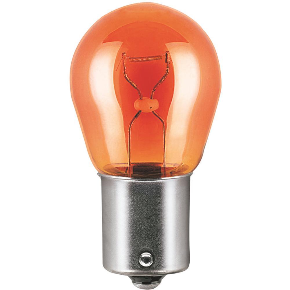 Автомобильная лампа PY21W поворот.оранж. 21W OSRAM комплект 10 шт
