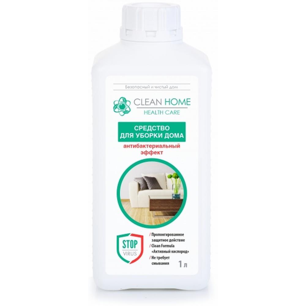Clean Home Средство для уборки дома Антибактериальный эффект, 1 л. недорого